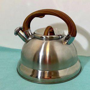 Stainless Steel Whistling Tea Pot